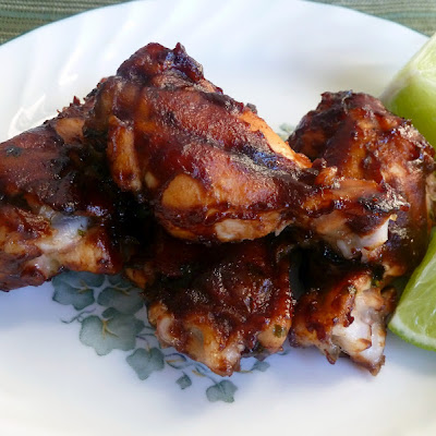Scott's Baked Honey Lime Wings with a Kick