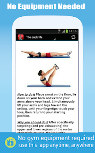 Simple Six Pack Abs Workout - screenshot