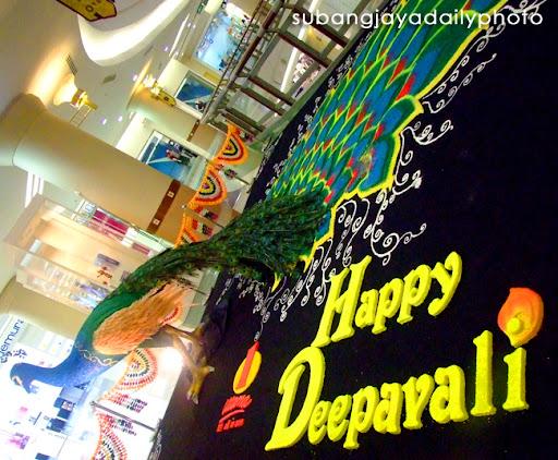 Subang Jaya Daily Photo: Deepavali Kolam