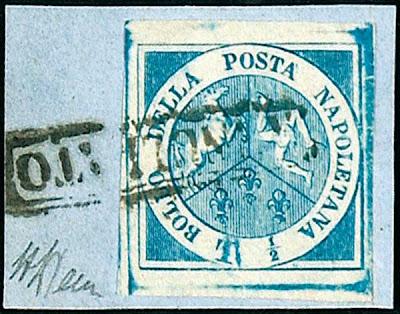 Un timbre de la poste napolitaine