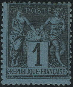 1c bleu de Prusse