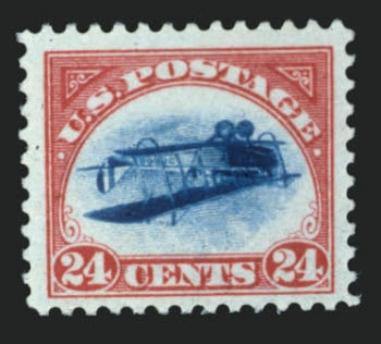 Inverted Jenny, position 77