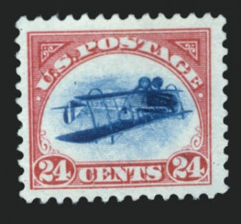 Inverted Jenny, position 89