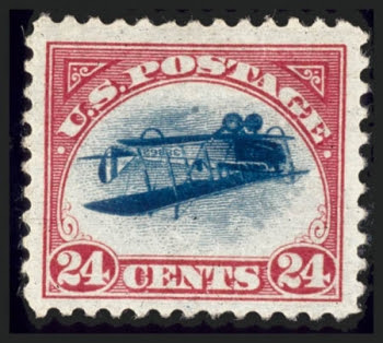 Inverted Jenny, Position 48