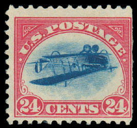 Inverted Jenny, Position 30