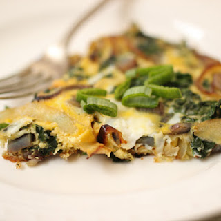 Potato and Kale Frittata