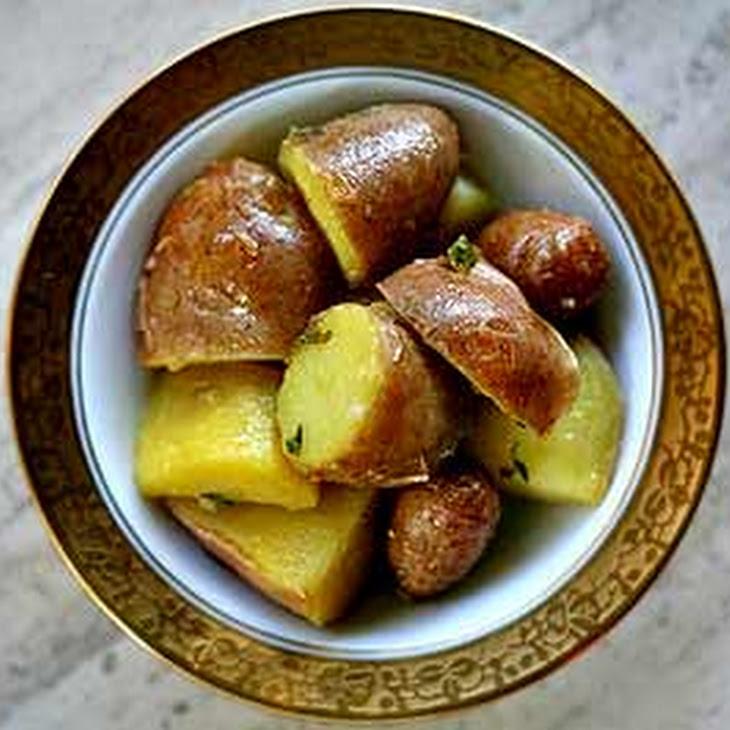 Fingerling Potatoes with Herb Vinaigrette