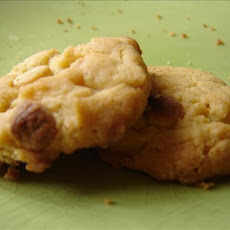 White Choc Chip Cookies