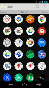 Tha Daisy - Icon Pack- screenshot thumbnail