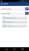 Screenshot of Mi Telcel