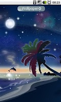 Screenshot of Galaxy Beach Wallpaper FREE