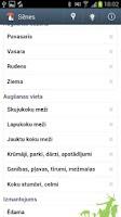 Screenshot of Sēnes Latvijā