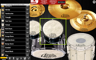 Screenshot of Drums Droid HD FREE