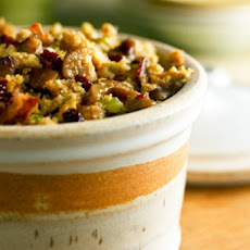 Herb and Bacon Corn-Bread Stuffing