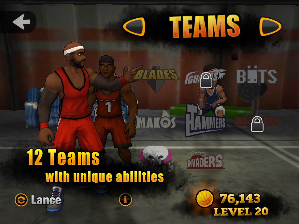 Jam League Basketball Screenshot 9