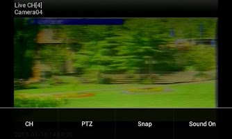 Screenshot of Bosch DVR Viewer