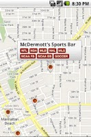 Screenshot of Sports Bar Finder
