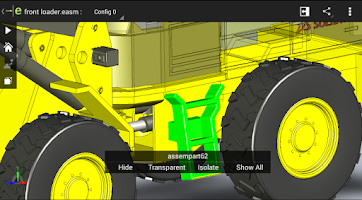 Screenshot of eDrawings
