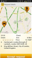 Screenshot of mTaxi - Taxi Driver app