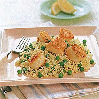 Seared Sesame Scallops