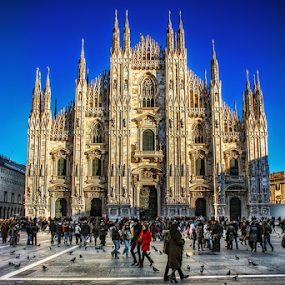 Duomo di Milano by Andrea Conti - Buildings & Architecture Public & Historical ( milan, church, cathedral, duomo, architecture, italy, milano,  )