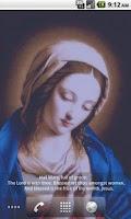 Screenshot of Virgin Mary LWP Free