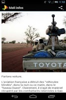 Screenshot of Mali informations & actualités