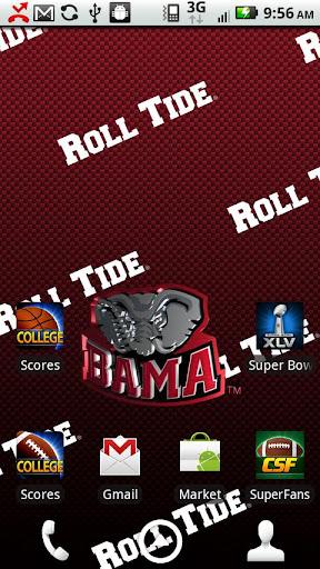 Alabama Live Wallpaper HD