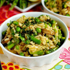 Lighter Spring Risotto