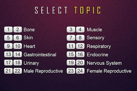 Medical Terminology Quiz - screenshot