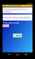 Screenshot of Elige Texto Lite for WhatsApp