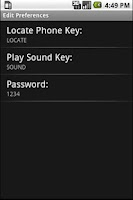 Screenshot of Locate Your Phone
