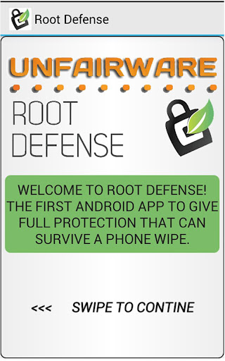 ROOT DEFENSE