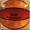 MIAMI Basketball 3D LWP icon
