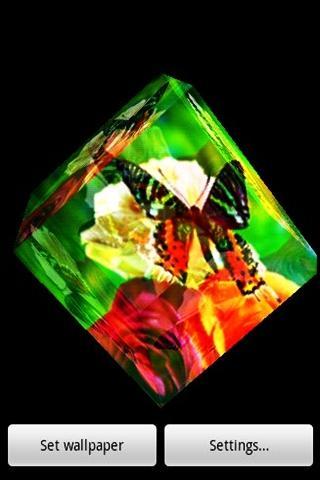 三維黃金蝴蝶