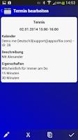 Screenshot of Deutscher Kalender-Testversion