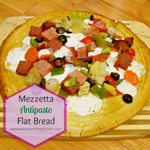 Mezzetta Antipasto Flatbread #Sponsored