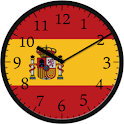 Analog Clock Spain icon
