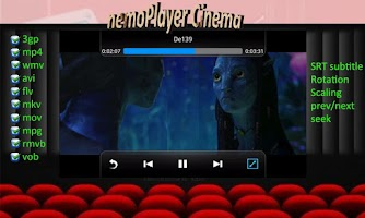 Screenshot of NEMO Media Player Plus