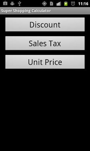 Super Shopping Calculator