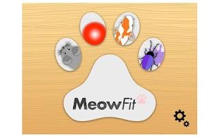 Screenshot of MeowFit