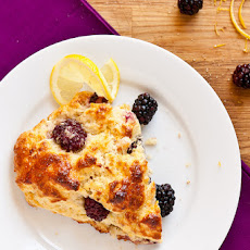 Blackberry Lemon Scones