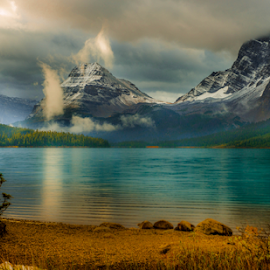 by Joseph Law - Landscapes Mountains & Hills ( glacier, national park )