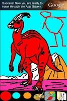 Screenshot of Coloring for Kids - Dinosaur