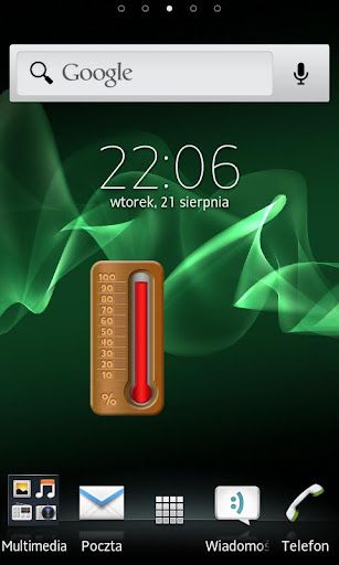 Thermometer Battery