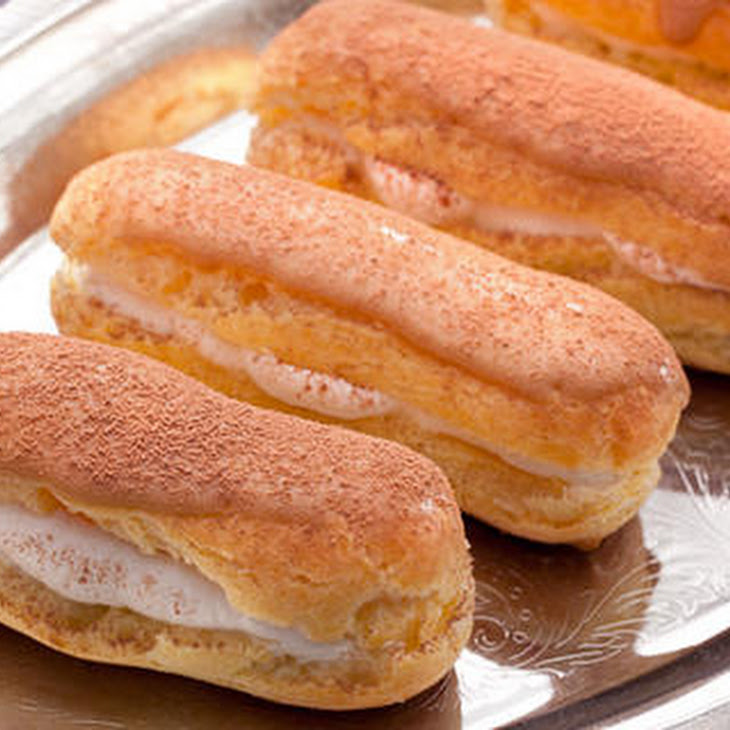 Mini Tiramisu Eclairs Recipes — Dishmaps