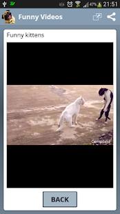 Lustige Videos für WhatsApp – Miniaturansicht des Screenshots