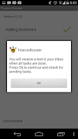 Screenshot of FeatureBooster21