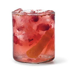 Orange-Cranberry Gin and Tonic