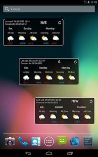 Trentino Meteo Widget - screenshot